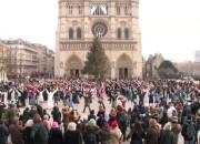 Flash-mob Notre-Dame